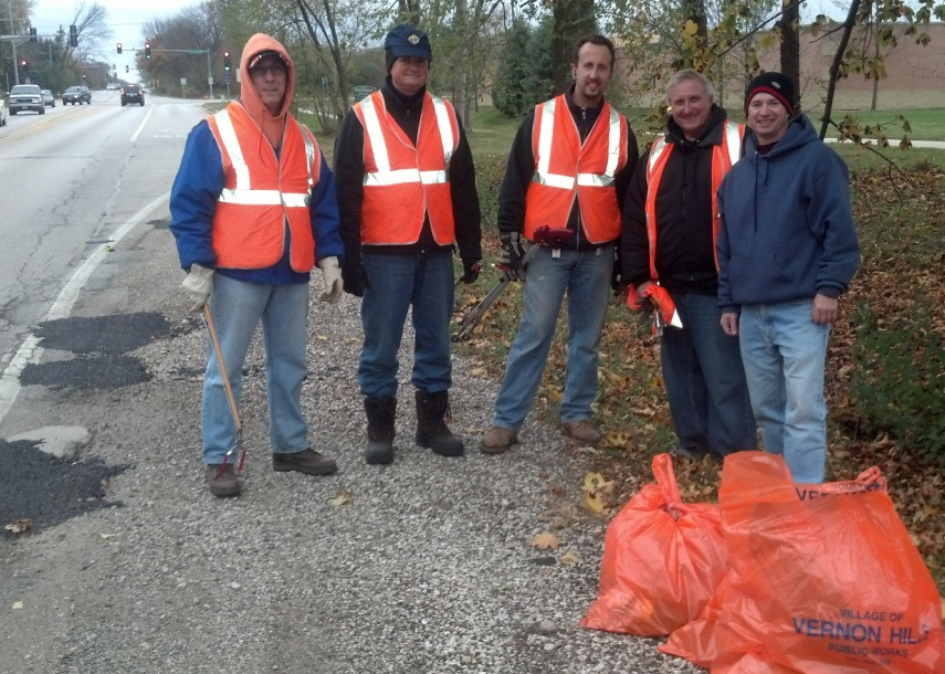 Highway 45 Clean-Up Crew