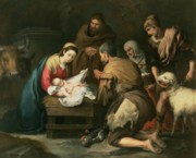 Adoration of the Shepherds - Bartolome Murillo